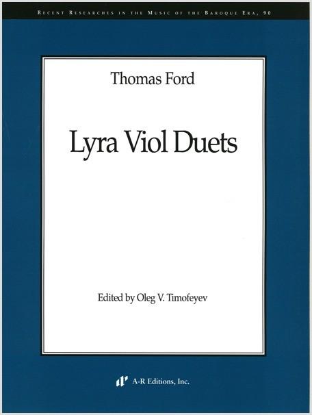 Ford: Lyra Viol Duets