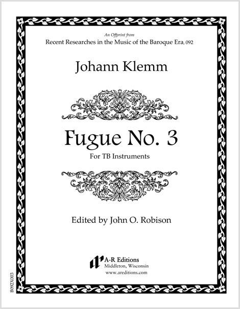 Klemm: Fugue No. 3