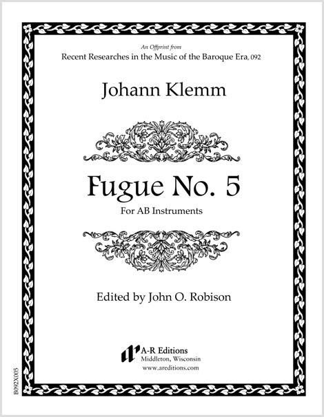 Klemm: Fugue No. 5