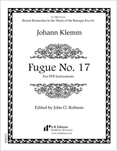 Klemm: Fugue No. 17