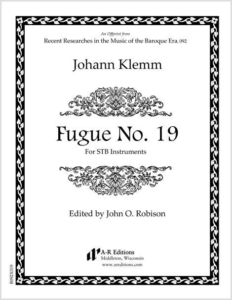 Klemm: Fugue No. 19