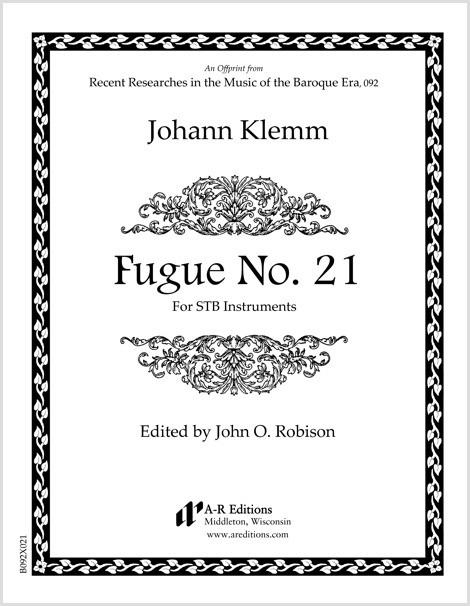 Klemm: Fugue No. 21