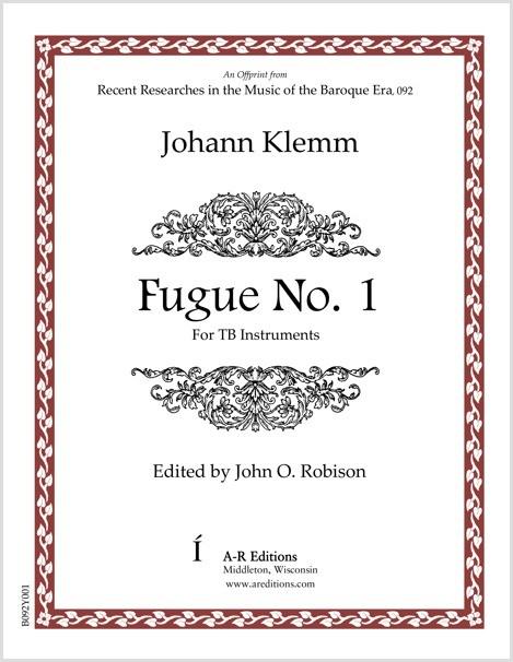 Klemm: Fugue No. 1