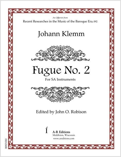 Klemm: Fugue No. 2