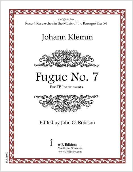 Klemm: Fugue No. 7