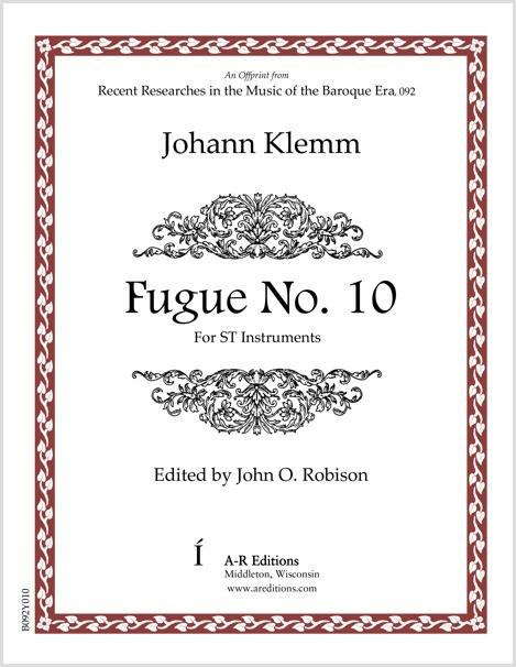 Klemm: Fugue No. 10