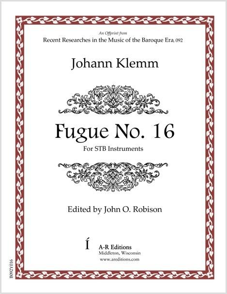 Klemm: Fugue No. 16