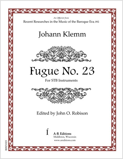 Klemm: Fugue No. 23