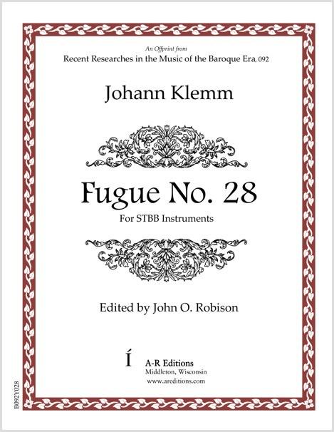 Klemm: Fugue No. 28