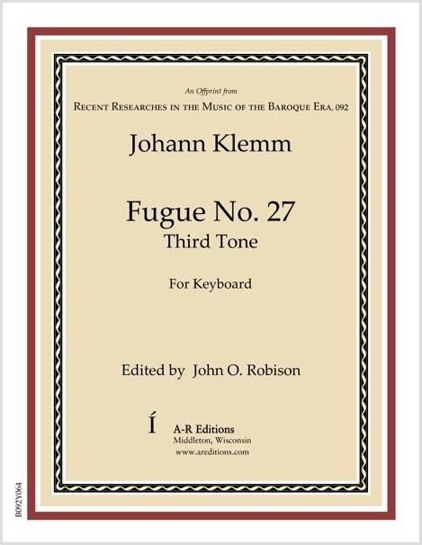 Klemm: Fugue No. 27