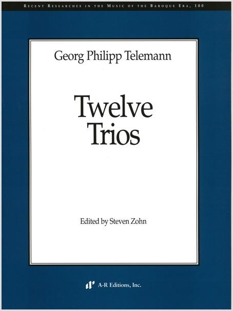 Telemann: Twelve Trios