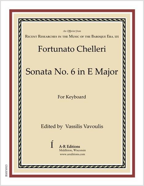 Chelleri: Sonata No. 6 in E Major