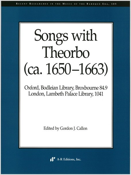 Songs with Theorbo (ca. 1650–1663)