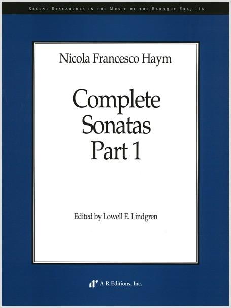 Haym: Complete Sonatas
