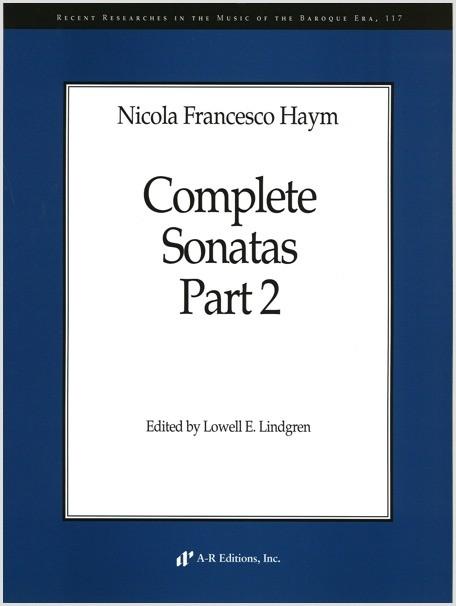 Haym: Complete Sonatas, Part 2