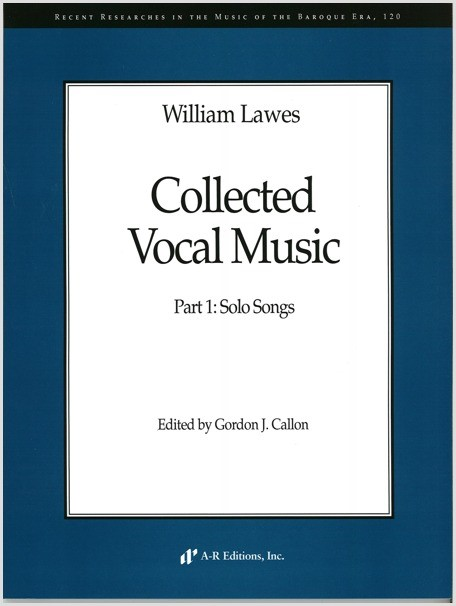 Lawes: Collected Vocal Works, Part 1