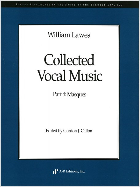 Lawes: Collected Vocal Works
