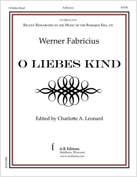 Fabricius: O liebes Kind