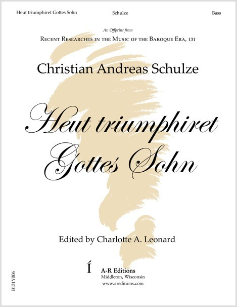 Schulze: Heut triumphiret Gottes Sohn
