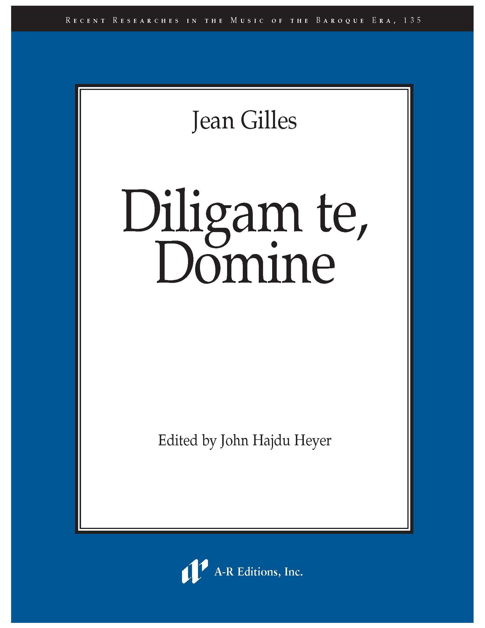 Gilles: Diligam te, Domine