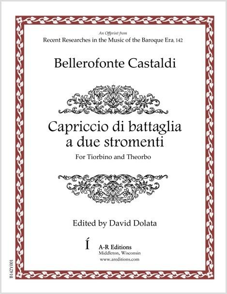 Castaldi: Capriccio di battaglia a due stromenti