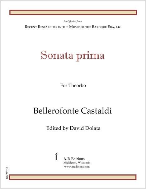 Castaldi: Sonata prima