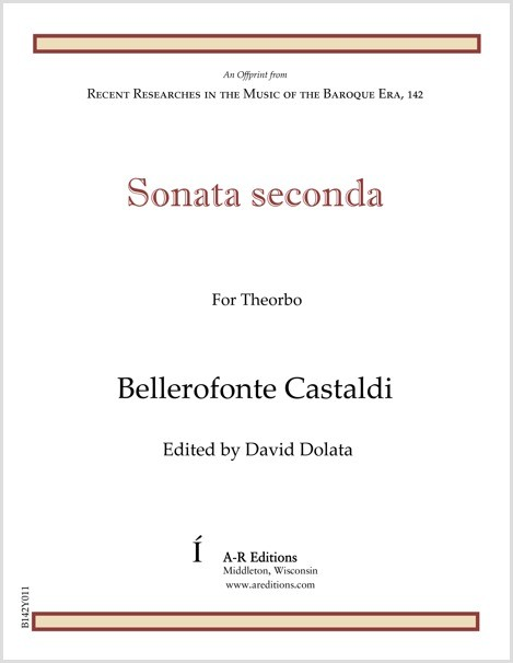 Castaldi: Sonata seconda