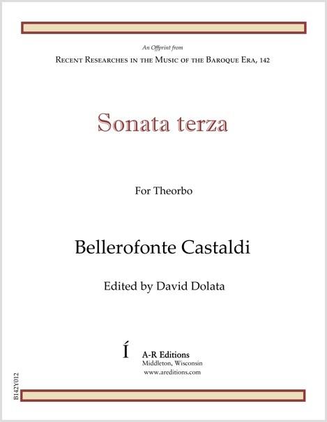 Castaldi: Sonata terza