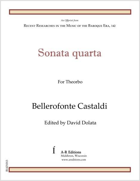Castaldi: Sonata quarta