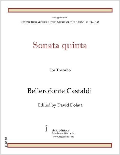 Castaldi: Sonata quinta