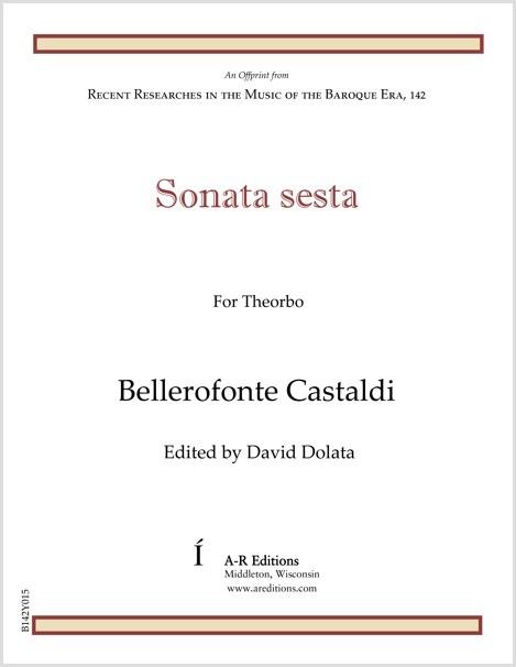 Castaldi: Sonata sesta