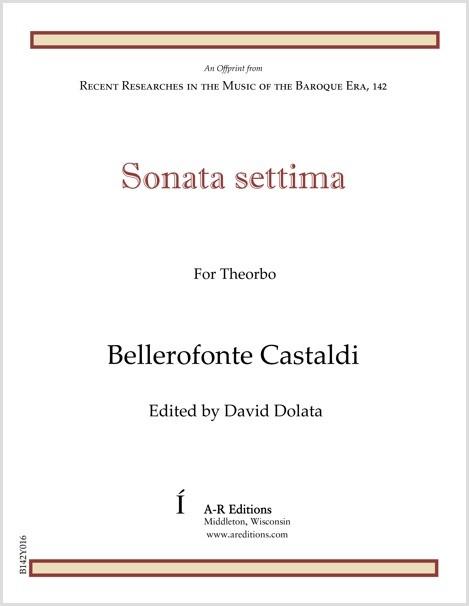 Castaldi: Sonata settima