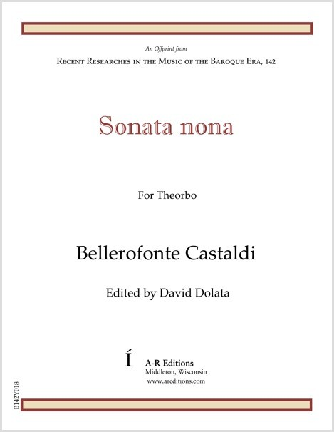 Castaldi: Sonata nona