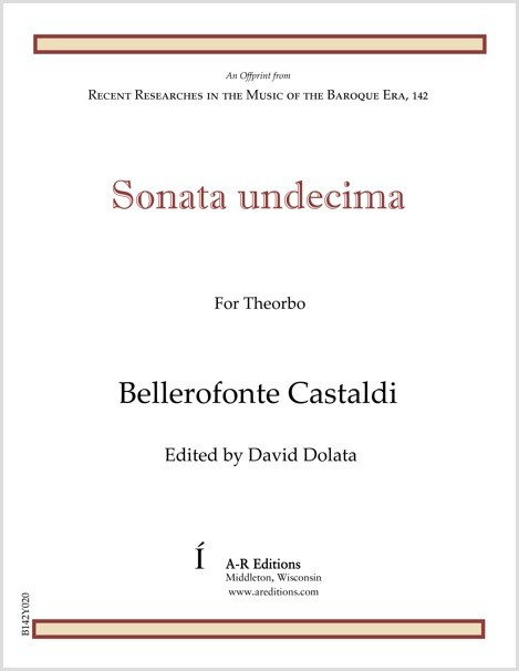 Castaldi: Sonata undecima