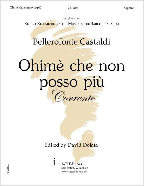 Castaldi: Ohimè che non posso più