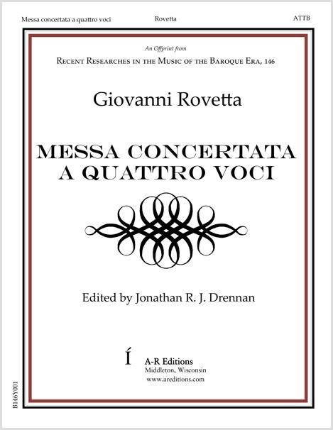 Rovetta: Messa concertata a quattro voci