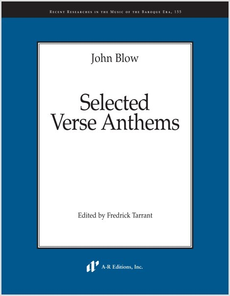 Blow: Selected Verse Anthems