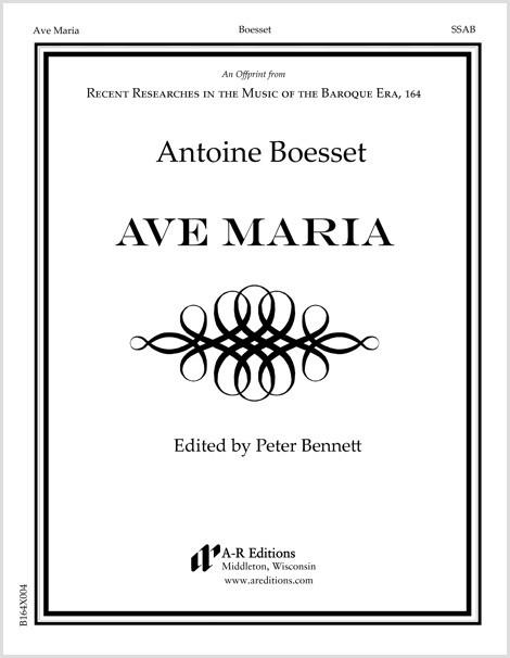 Boesset: Ave Maria