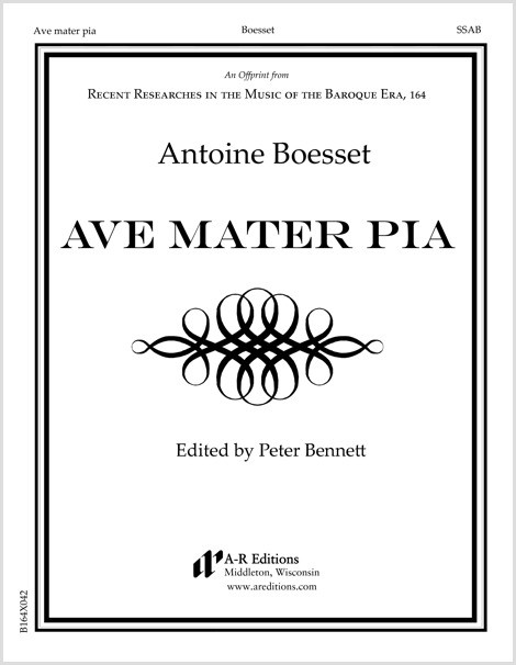 Boesset: Ave mater pia