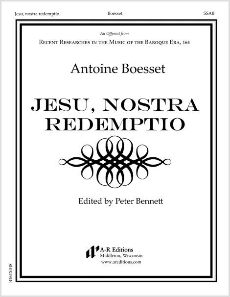 Boesset: Jesu, nostra redemptio