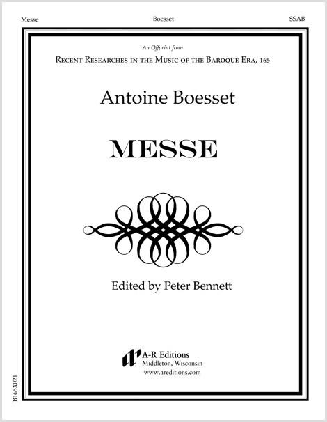 Boesset: Messe