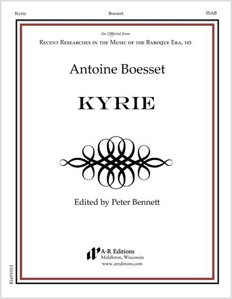Boesset: Kyrie