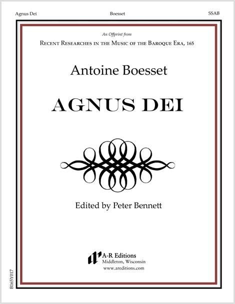 Boesset: Agnus Dei