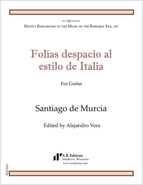 Murcia: Folías despacio al estilo de Italia