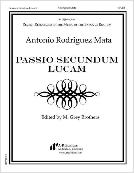 Rodríguez Mata: Passio secundum Lucam