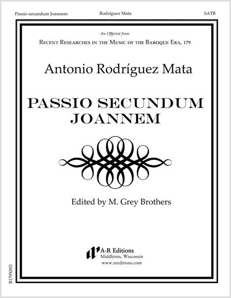 Rodríguez Mata: Passio secundum Joannem