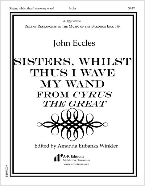 Eccles: Sisters, whilst thus I wave my wand