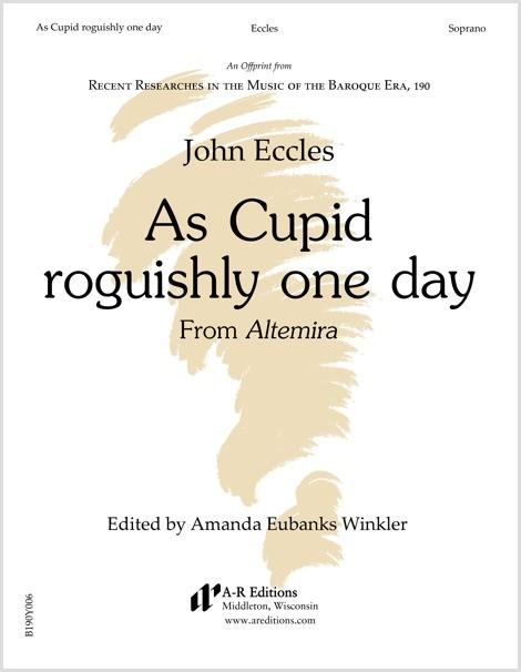 Eccles: As Cupid roguishly one day