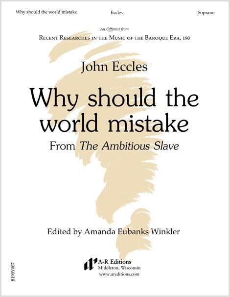 Eccles: Why should the world mistake