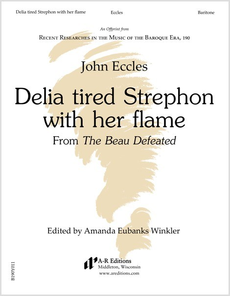 Eccles: Delia tired Strephon with her flame